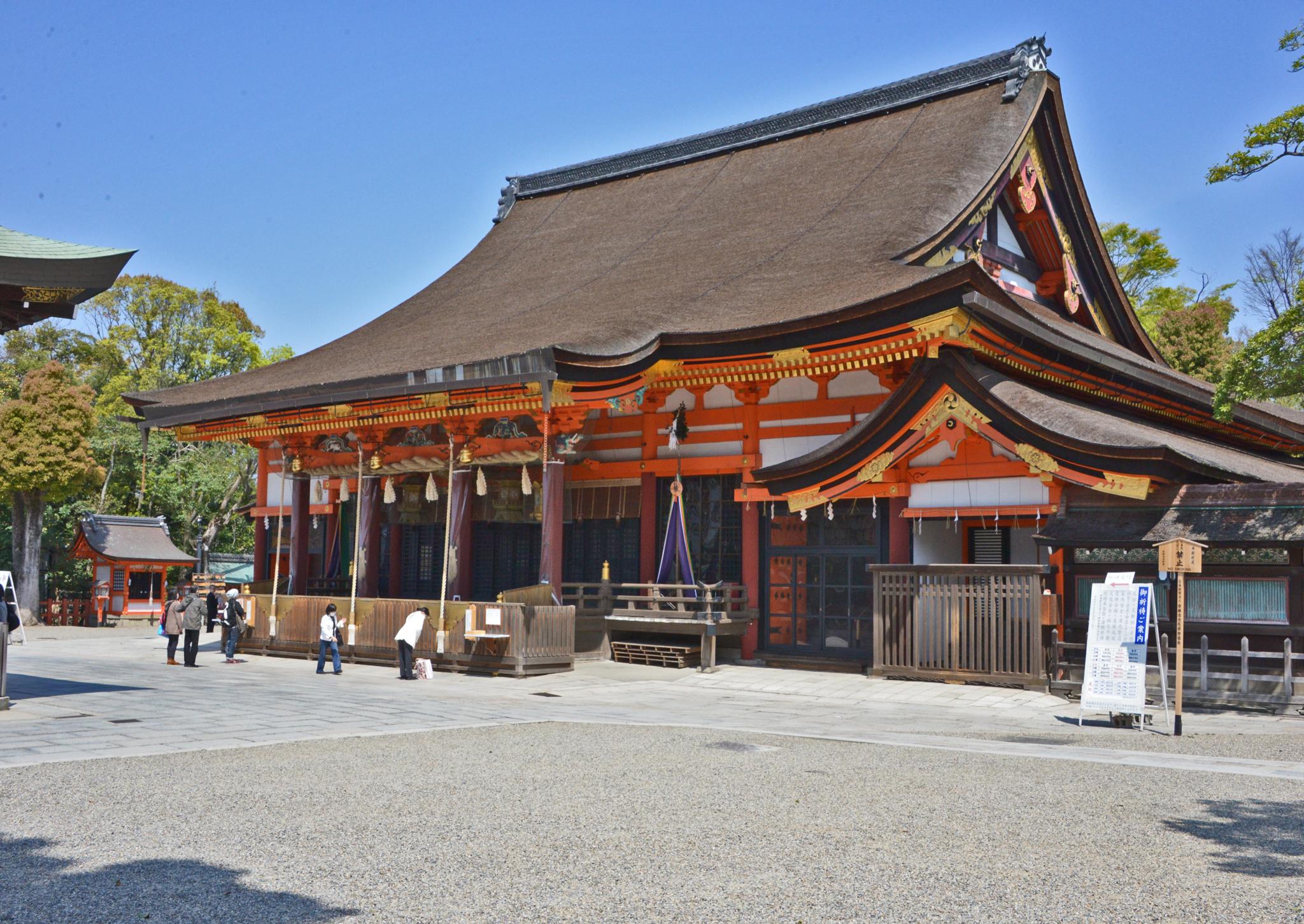 ⇑ 八坂神社