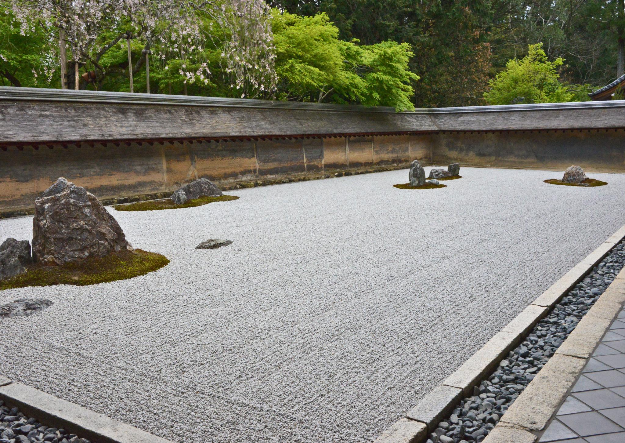 ⇑ 龍安寺の石庭