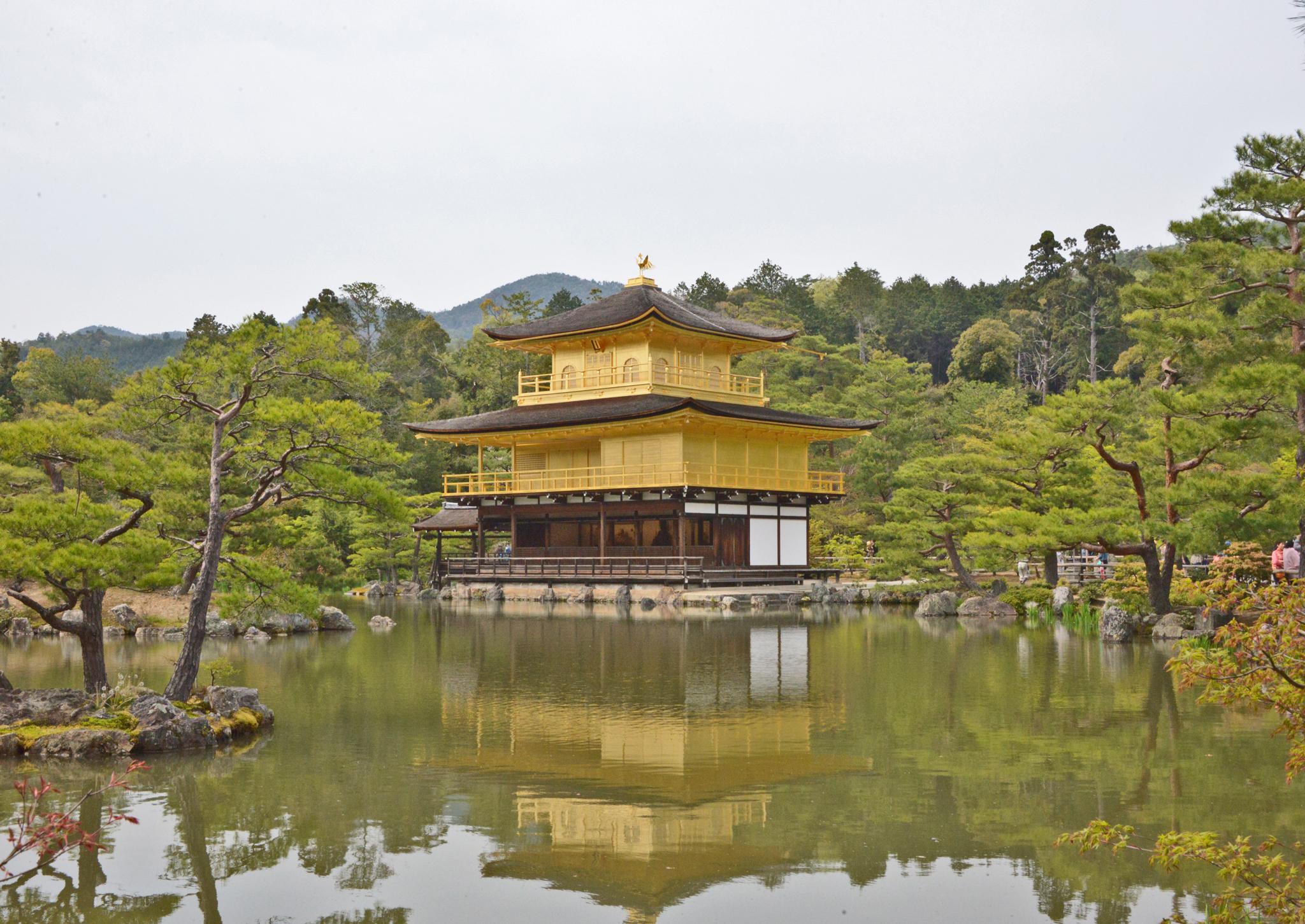 ⇑ 金閣寺
